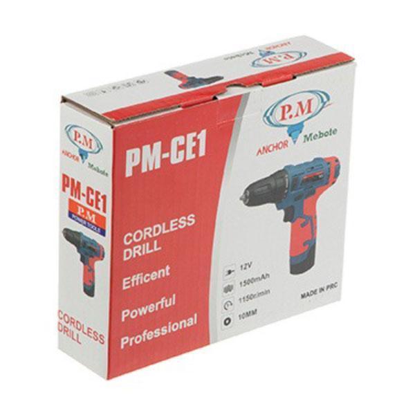 دریل-پیچ-گوشتی-شارژی-تک-باتری-آنکور-پی-ام-مدل-PM-GE11