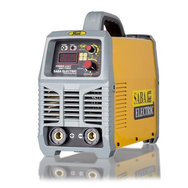 جوش اینورتر 200 آمپر صبا الکتریک مدل POWER LIGHT-2001 TURBO