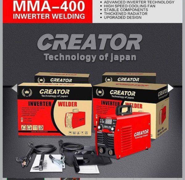 دستگاه جوش اینورتر کریتور مدل mma-400